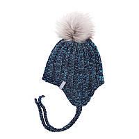 Зимняя детская шапка для девочки Nano F18 TU 280 Purple. Размеры 2/4 и 5/6X.