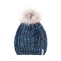 Зимняя детская шапка для девочки Nano F18 TU 280 Purple. Размер 7/12.