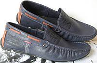 Levi s демісезонні стильні чоловічі сині мокасини шкіра весна осінь чоловіче  взуття Туреччина Левіс репліка 6788eecf35b1e