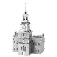 Металлическая сборная 3D модель Independence Hall (Индепенденс-холл), Metal Earth (MMS157)