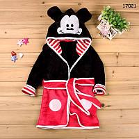 Халат Mickey Mouse для мальчика. 90, 120 см