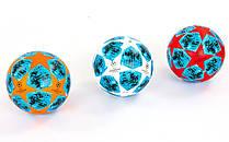 М'яч футбольний PU ламінований Клеєний CHAMPIONS LEAGUE2018-2019 FB-6881 розмір 5