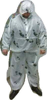Зимний маскировочный костюм клякса, фото 2