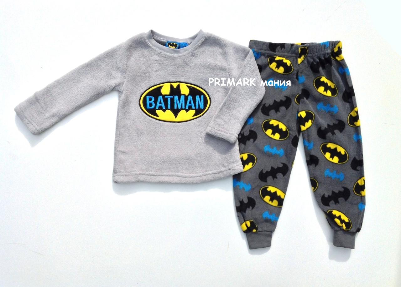 Флисовая пижама Бэтмен для мальчика Primark   продажа 52dec85d7a56a
