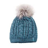 Зимняя детская шапка для девочки Nano F17 TU 1252 New Reef Confetti. Размеры 4/6X и 7/12.