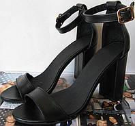 Viva літо! жіночі стильні босоніжки чорні каблук 10 см натуральні шкіряні або замшеві туфлі Viva стиль!