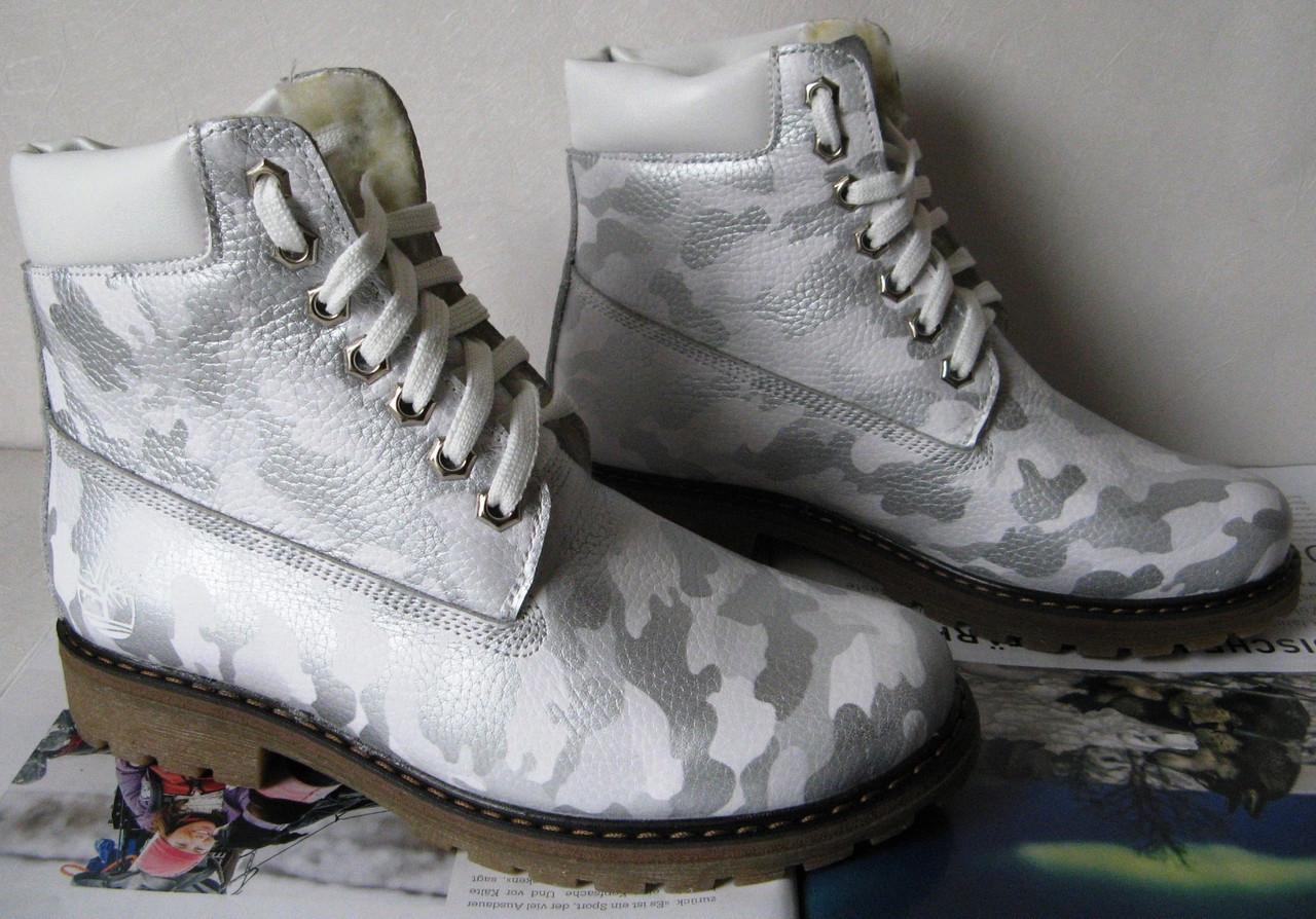 Timberland Зимові Жіночі Шкіряні Черевики Репліка Мілітарі Взуття ... 0838910213bdd