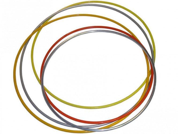 Обруч гімнастичний пластмасовий діаметром 540 мм