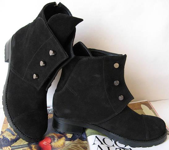 Зимові жіночі черевики Hermes чорного кольору 8944377f18bda