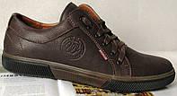 Чоловічі демісезонні коричневі кеди Wrangler! осіннє взуття шкіряні туфлі в стилі Вранглер черевики
