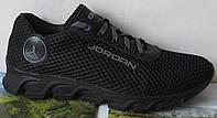 Jordan! літні чорні чоловічі спортивні кросівки сітка шкіра репліка весняне чоловіче спортивне взуття