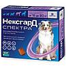 Merial NexGard Spectra таблетка от блох и клещей для собак 15-30 кг, L / 1 табл