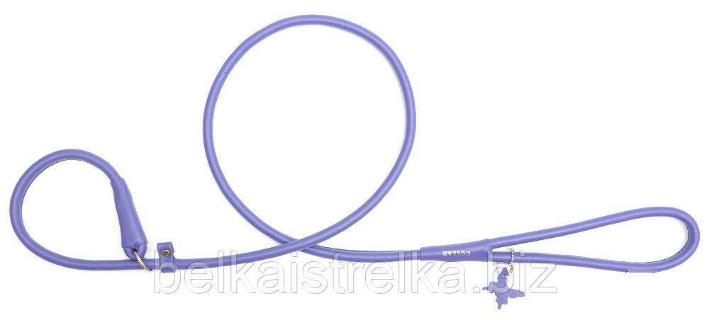 Поводок-удавка круглый COLLAR GLAMOUR для собак, ширина 6мм, длина 135см, 33929 фиолетовый