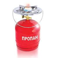 ☑️ Комплект газовый кемпинговый 8 л. Intertool Gs-0008