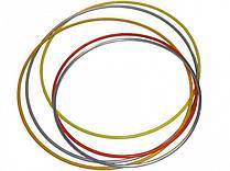 Обруч гімнастичний пластмасовий діаметром 890 мм D-17мм