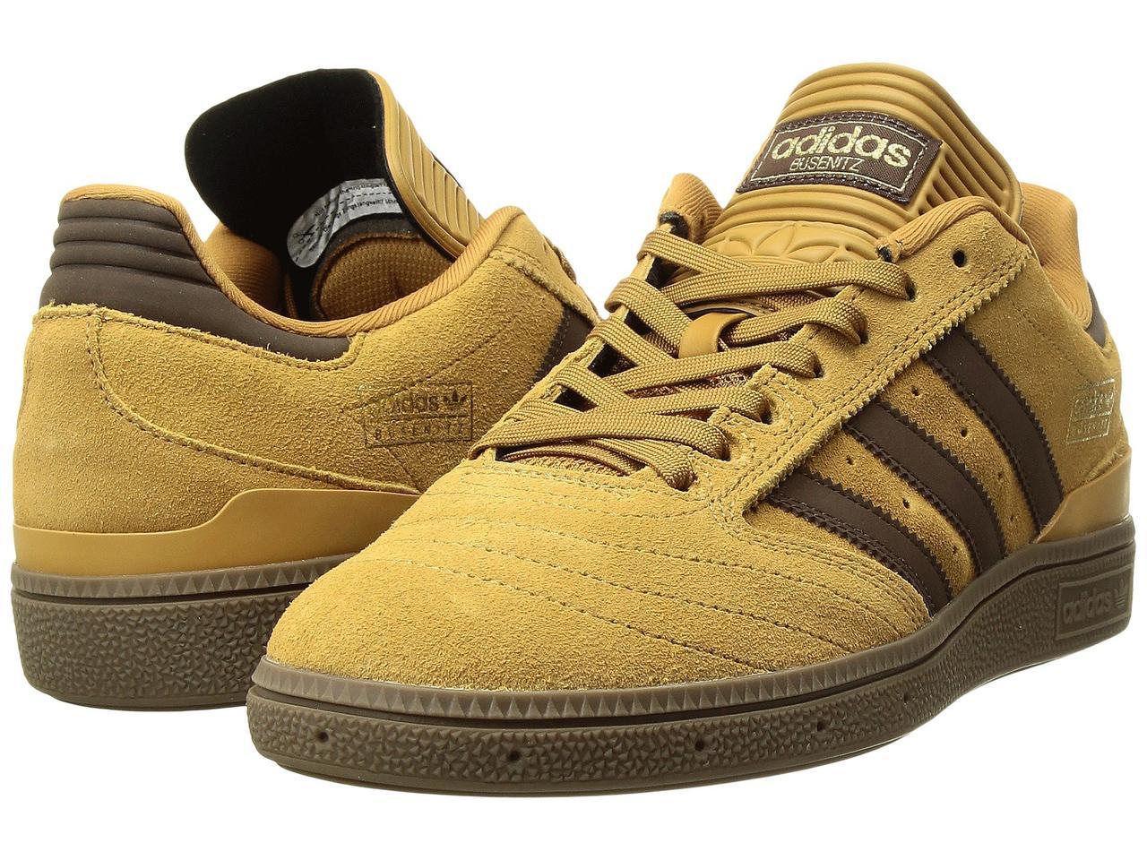 8194c65d789b ... Кроссовки Кеды (Оригинал) adidas Skateboarding Busenitz Pro Mesa Brown  Gold Metallic ...