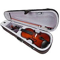 Скрипка 4/4, смычок, канифоль и чехол VALENCIA V400 4/4