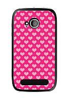 Чехол для Nokia Lumia 710 (сердечки)