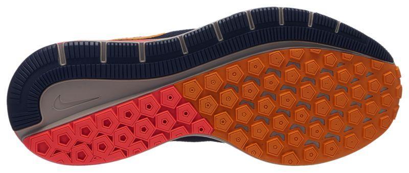 9b15f829d9fc Кроссовки Кеды (Оригинал) Nike Air Zoom Structure 22 Blackened Blue Orange  Peel