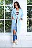 Стильное пальто прямого силуэта с крупными накладными карманами по бокам. Рукава 3/4., фото 2