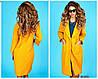 Стильное пальто прямого силуэта с крупными накладными карманами по бокам. Рукава 3/4., фото 5