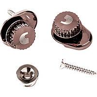 Стреплоки для ремней PLANET WAVES PW-SLS-02 Universal Strap Lock System (Nickel)