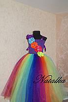 Сукня ту-ту з фатину Веселка, фото 2
