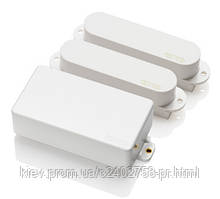 Набор активных звукоснимателей EMG SLV/SLV/81 white (evo1)