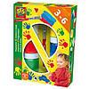Пальчиковые краски Ses - Цветные ладошки (6 цветов, кисточка)