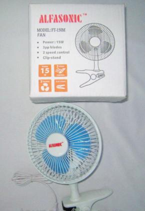 Вентилятор на прищепке + настольный Wimpex WX-707