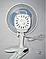 Вентилятор на прищепке + настольный Wimpex WX-707, фото 3