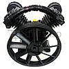 Компрессорная головка 800 л/мин, двухцилиндровая головка компрессора 2090, компрессионный блок для компрессора, фото 2