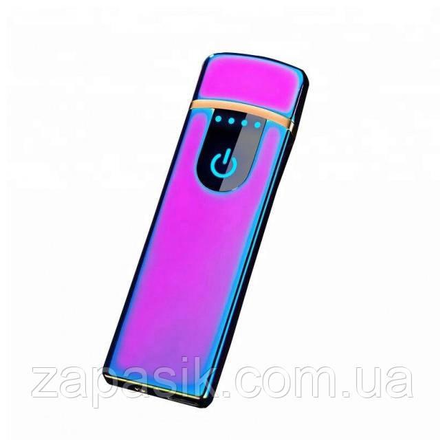 Электроимпульсная Металлическая USB Зажигалка USB 752