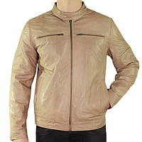 Xelement Mens Moto Racer Saddle Casual Leather Jacket