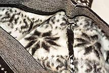 Лосины женские зимние с оленями и снежинками Олени, фото 3