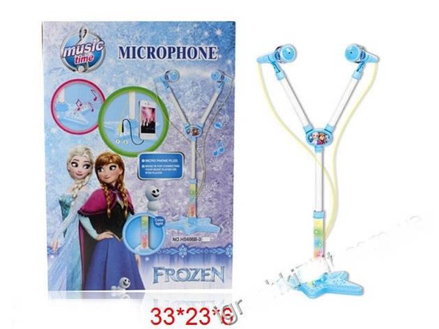 Детский музыкальный микрофон Frozen Холодное сердце, фото 2