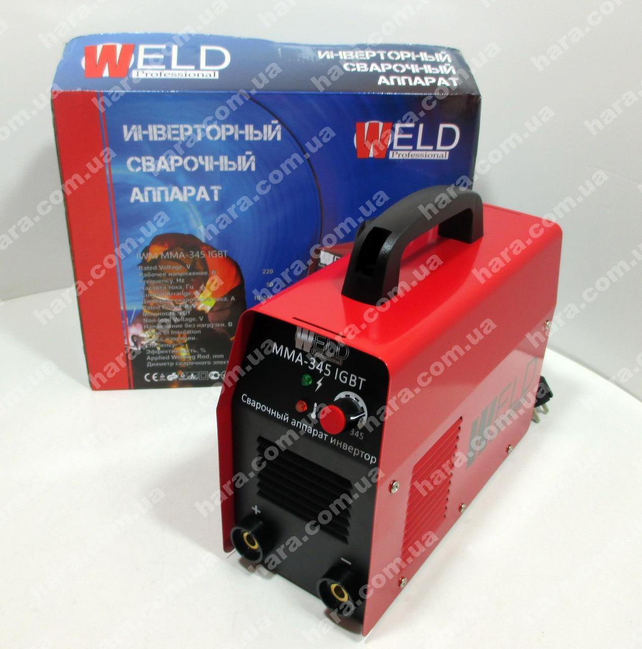 Сварочный инвертор Weld IWM MMA-345 (345 Ампер)