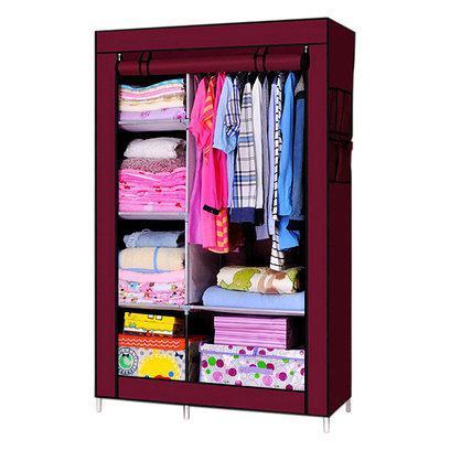 Шкаф, тканевый шкаф, шкаф для одежды, Storage Wardrobe 88105, шкаф чехол на молнии, складной шкаф