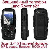 LAND ROVER S23 НА 3 SIM+POWER BANK+МОЩНЫЙ ФОНАРЬ