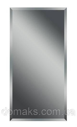 Зеркало  для ванной комнаты , фацетное 1200*500