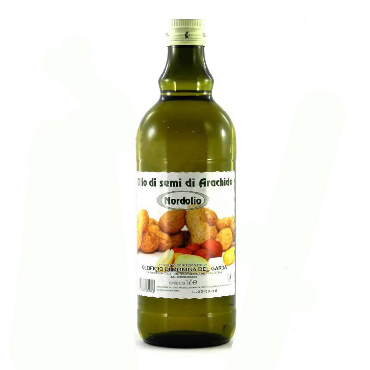 Арахісова олія нерафінована Olio di semi di Arachido Nordolio 1 л.