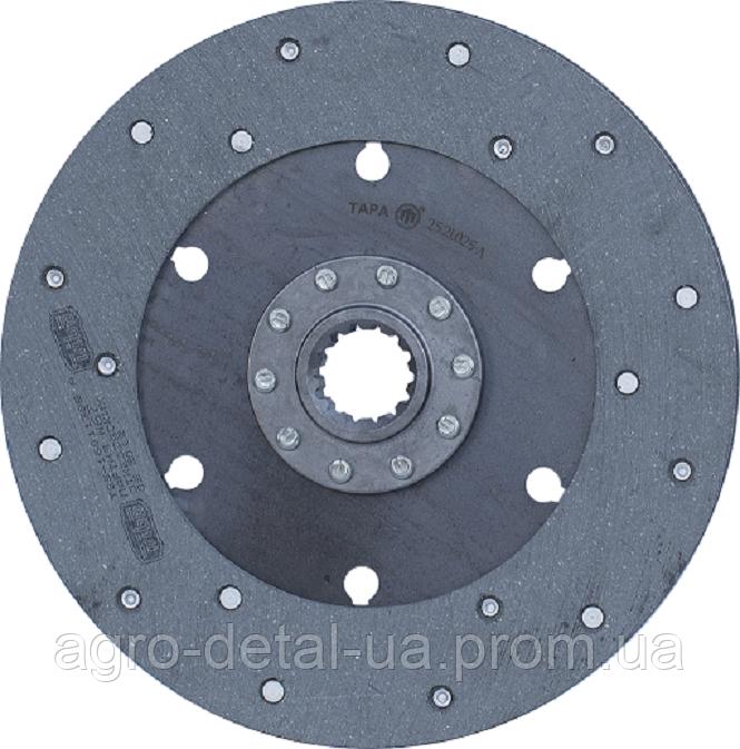 Диск сцепления 25.21.025-А ведомый (диск фередо) главной муфты сцепления Т 25,Т 25А