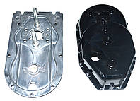 Корпус редуктора для мясорубки Saturn/Delfa (металлический низ)