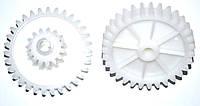 Шестерня для мясорубки Saturn/Delfa/Vitek D=74mm/28mm Z=35 (прямых)/15 (прямых)