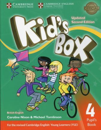 Kid's Box Updated 2nd Edition Level 4 Pupil's Book British English