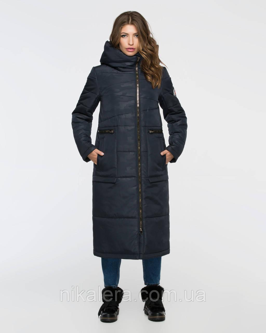 dca9e2a756987 Зимняя длинная куртка - пуховик с капюшоном, 46-56р: продажа, цена в ...