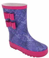 Резиновые сапоги для девочек 5516-1373, фиолетово-розовые, Lapsi (Arial) (30) (5516-1373/30)