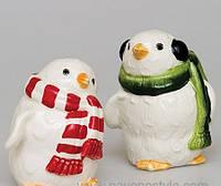 Набор соль-перец Пингвины из фарфора