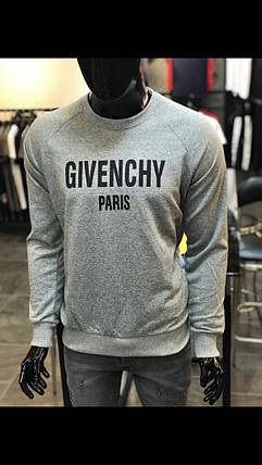 Свитшот Givenchy серого цвета топ реплика, фото 2