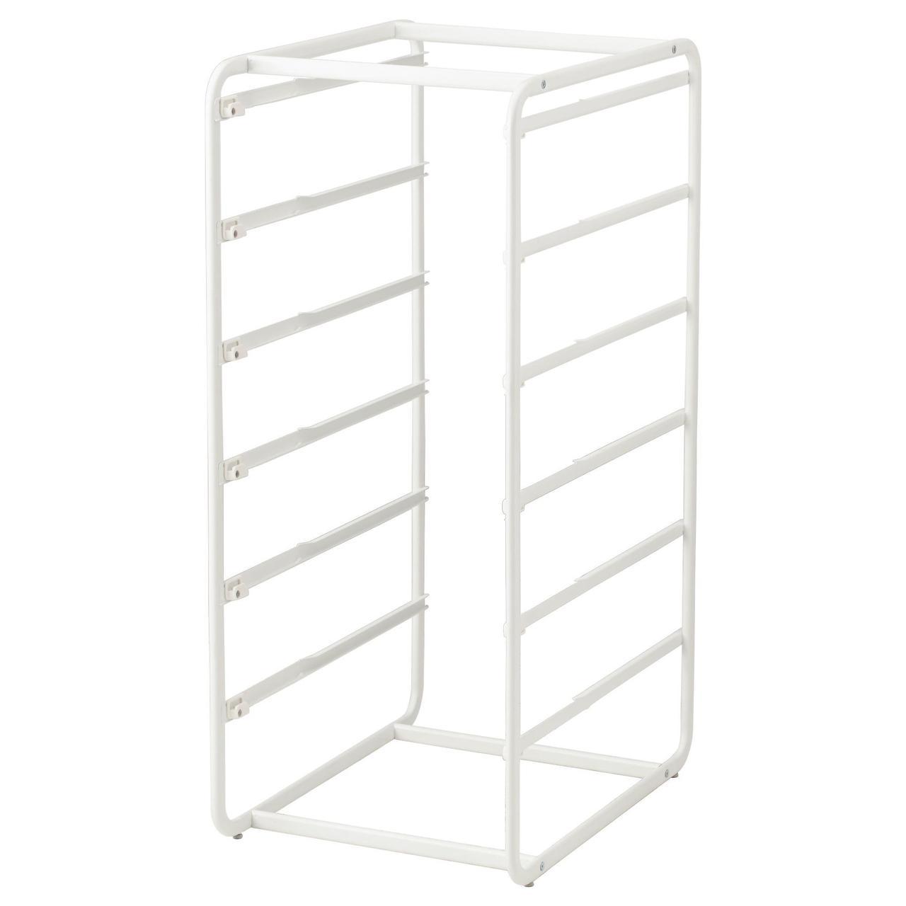 Рама IKEA ALGOT 100 см белая 804.018.57